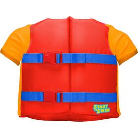 TYR Flotation Shirt - Niños - naranja/rojo
